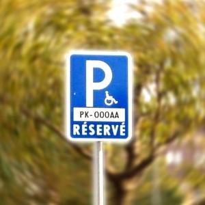 Vyhradené môže byť len parkovacie miesto pre osobu zdravotne